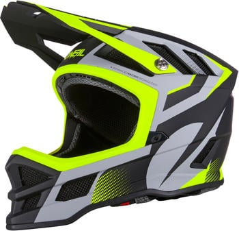 O'Neal Blade helmet Oxyd gray/neon yellow