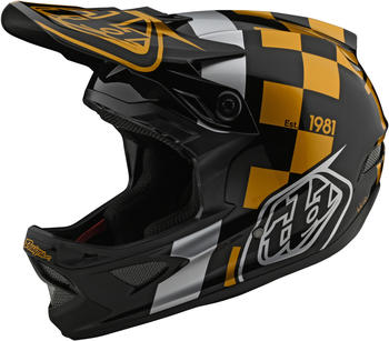 Troy Lee Designs D3 Fiberlite helmet raceshop black/gold