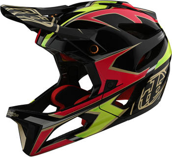 Troy Lee Designs Stage MIPS helmet ropo pink/yellow