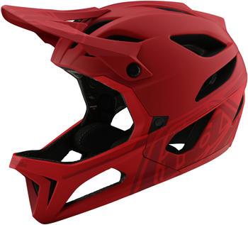 Troy Lee Designs Stage MIPS helmet stealth red