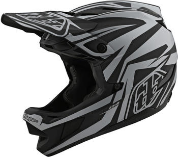 Troy Lee Designs D4 Composite MIPS Mirage helmet black/silver