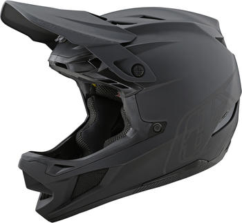 Troy Lee Designs D4 Composite MIPS Mirage helmet stealth black/grey