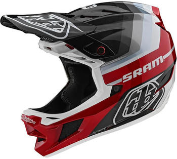 Troy Lee Designs D4 Carbon MIPS Mirage helmet sram black/red