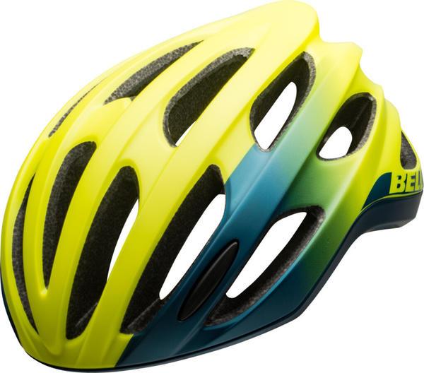 Bell Formula helmet matte/gloss hi-viz/blue