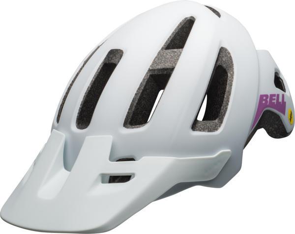 Bell Nomad Jr.MIPS matte white/purple