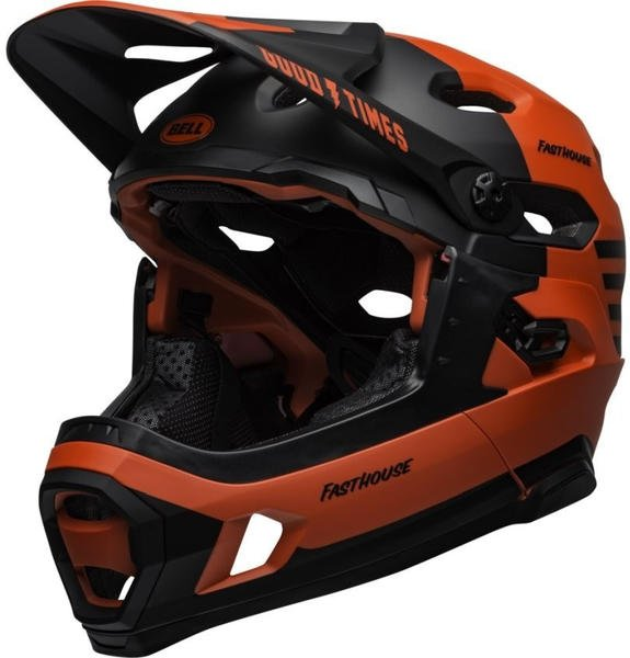 Bell Super DH Mips black-red
