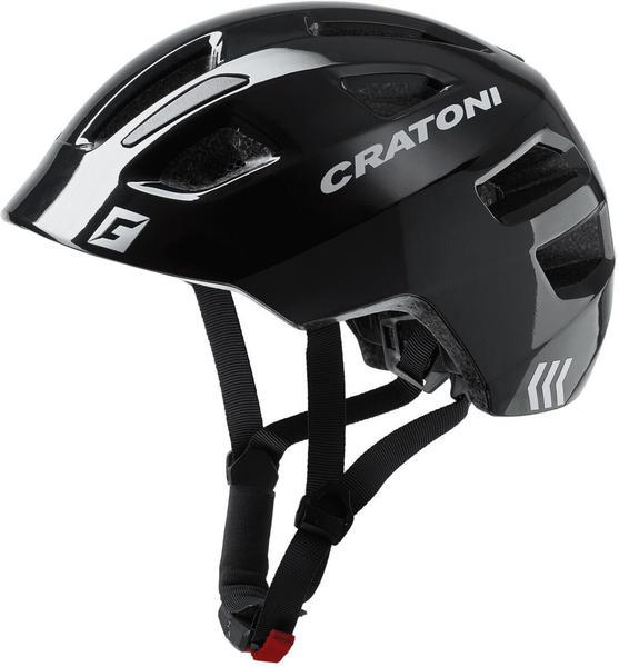 Cratoni Maxster black glossy