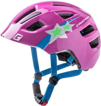 Cratoni Maxster star pink glossy