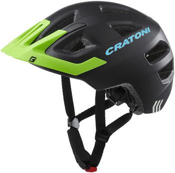 Cratoni Maxster Pro Kid black-green lime matt