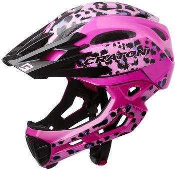 Cratoni C-Maniac Pro pink tiger