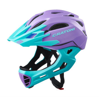 Cratoni C-Maniac purple-turquoise matt