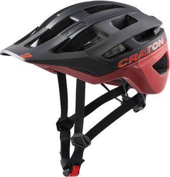 Cratoni AllRace black/red matt