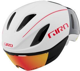 Giro Vanquish MIPS Titanium matte white/portaro grey/red