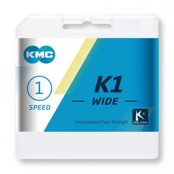 KMC K1 1-fach silver/black 110