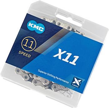 KMC X11 11-fach silver/black 118