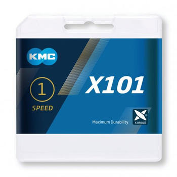 KMC X101 1-fach silver 112