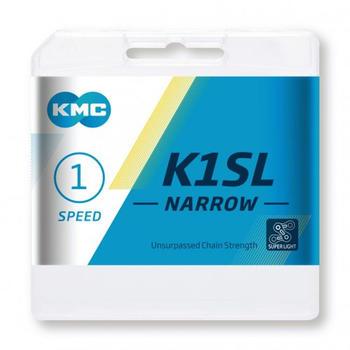 KMC K1SL Narrow 1-fach silver 100