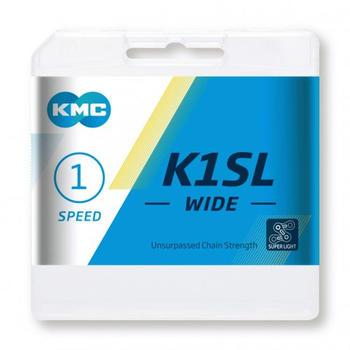 KMC K1SL Wide 1-fach silver 100