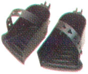 Hamax Kinder 2122800701 Fußstütze, Grau, 15 x 15 x 20 cm