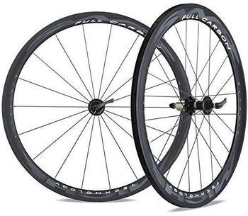 Miche SWR Full Carbon Cross 28' Laufradsatz Schlauchreifen - Carbonweiß