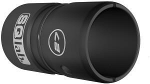 SQlab Lenkerhülse Ø27/31,8mm Alu eloxiert silber