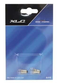 XLC Birnenset für Vorne+Hinten 6 Volt 2,4W+0,6W (auf XLC Karte),