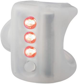 Knog Gekko rote LED translucent 11489KN
