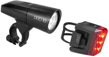 Cube Pro 18 Beleuchtungsset schwarz