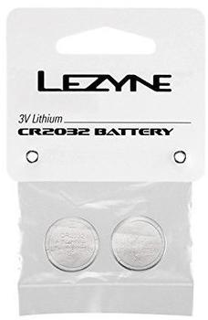 Lezyne Batterien Knopfzelle CR2032 2 Stück