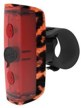 Knog POP R Rücklicht rote LED leopard