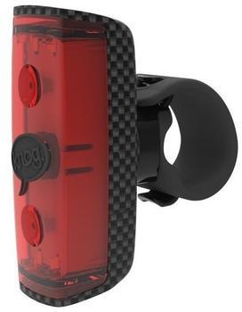 Knog POP r Rücklicht rote LED carbon Stecklampen kinder schwarz