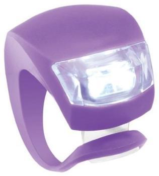 Knog LED Beleuchtung Beetle vorne, violett