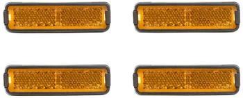 RFR Pedalreflektor-Set orange Reflektoren