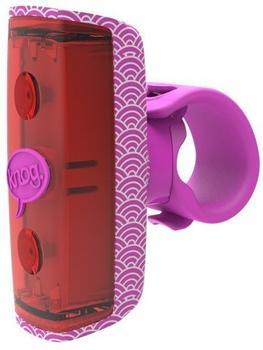 Knog Pop R Sicherheitsleuchte - pink