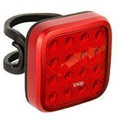Knog Blinder MOB Lampe, rote LED, Kid Grid, rednicht STVZO zugelassen