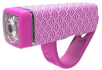 Knog Pop I Sicherheitsleuchte - pink