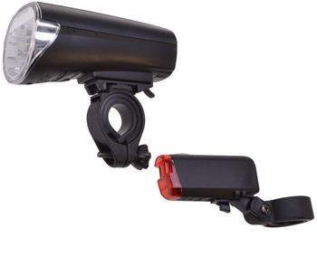 Filmer Fahrrad Beleuchtung Set LED StVZO zugelassen