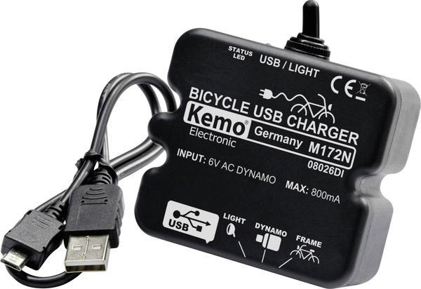 Kemo Fahrrad Laderegler USB (M172)