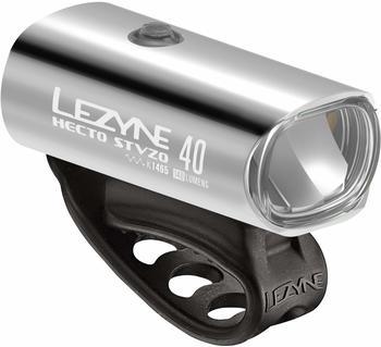 Lezyne Hecto Drive STVZO 40 silver