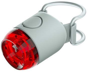 Knog Plug 250 Lumens Grey / Red