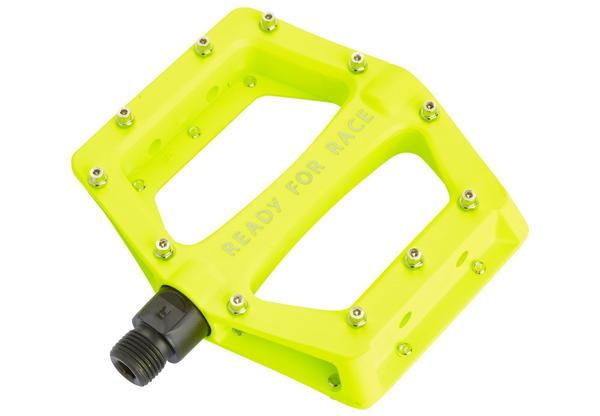 Cube RFR Pedale Flat CMPT (yellow)