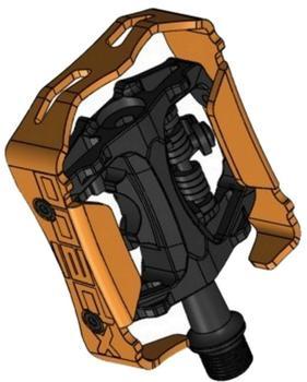 Xpedo Pedal Clipless Milo 9/16 schwarz/schwarz