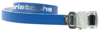 Zéfal Zefal Pedalriemen Paar Christophe 516 blau 370mm Leder