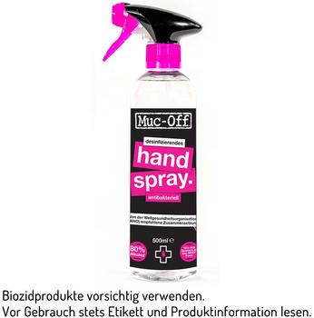 Muc-Off Antibacterial Hand Sanitising Spray 500ml