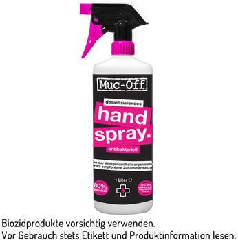 Muc-Off Antibacterial Hand Sanitising Spray 1 Liter