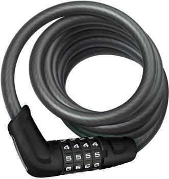 ABUS Tresor 6512C/180/12 BK Spiralkabelschloss