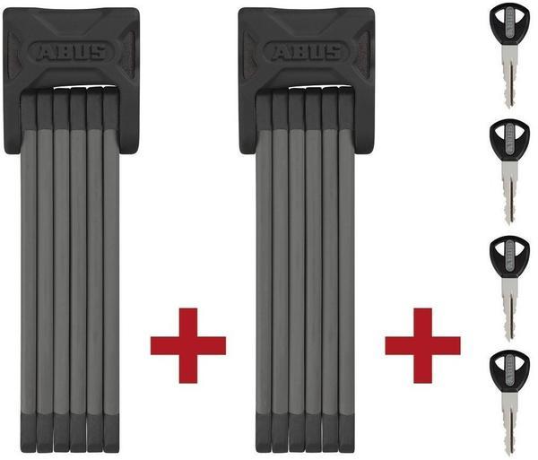 ABUS Bordo 6000/90 black Twin Set