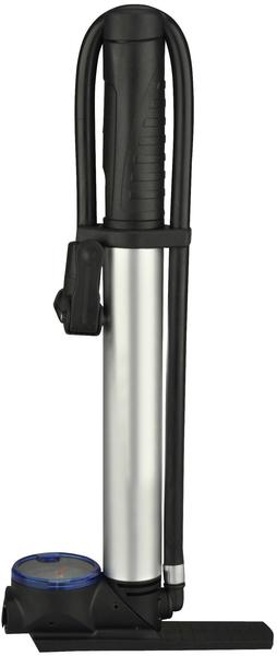 Fischer 2in1 Mini Floor Pump (85591, black)