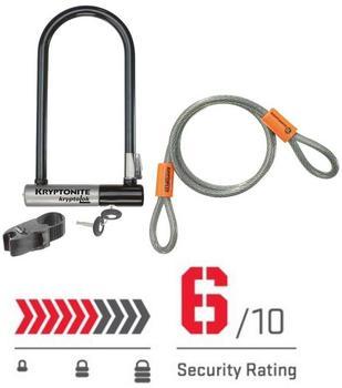 Kryptonite KryptoLok U-lock incl KryptoFlex Loop Cable