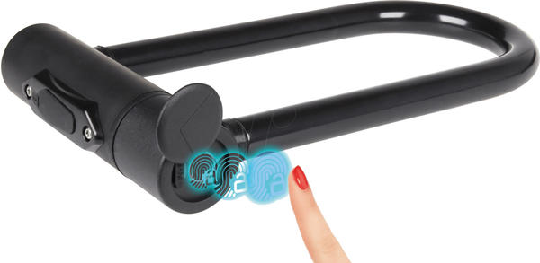 Joy-IT Bike Lock Fingerprint Sensor (black)